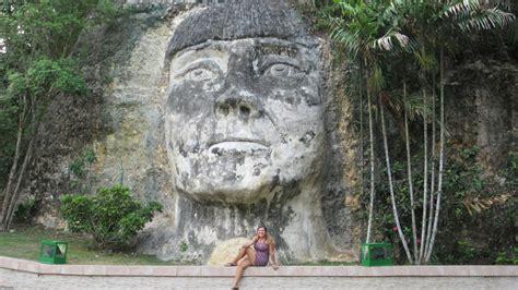 taino indian head sculpture lifetransplanet