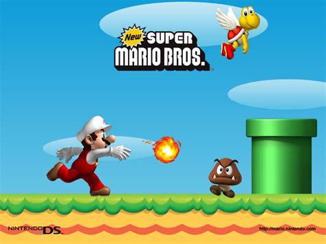 New Super Mario Brothers Super Mario Bros Wallpaper