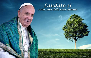 si e de massada guarda con me laudato sì enciclica francescana di papa