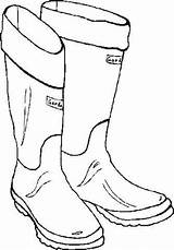 Boots Coloring Rain Template Boot Pages Printable Drawing Santa Winter Templates Snow Colouring Hiking Sketch Printables Getdrawings Christmas Sheets Claus sketch template