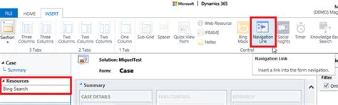 How To Embed Websites Using Iframes From The Dynamics 365
