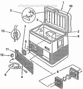 Coleman 5232b803 Parts List And Diagram