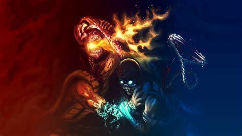 Car Wallpapers Hd 4k Scorpion Mortal Kombat by 46 Awesome Mortal Kombat Wallpapers On Wallpapersafari