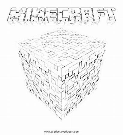 Minecraft Coloring Colorare Stampare Dibujos Misti Steve