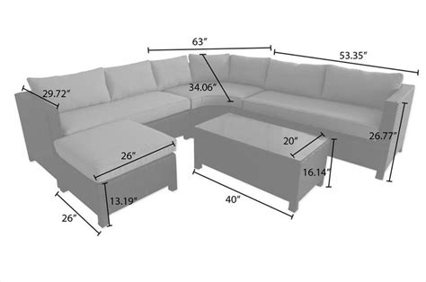 Kontiki Patio Furniture Canada by Builddirect 174 Kontiki Conversation Sets Wicker Sectional