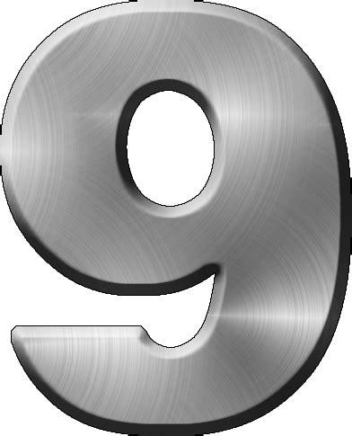 presentation alphabets brushed metal letter a presentation alphabets brushed metal numeral 9 31331