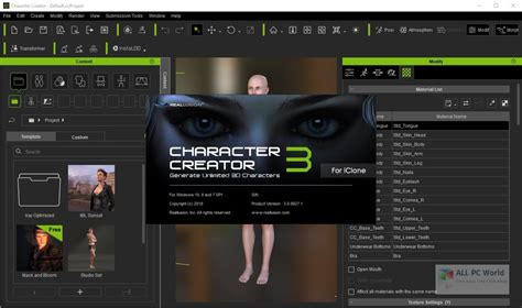Creator Free by Reallusion Character Creator 3 0 Free All Pc World
