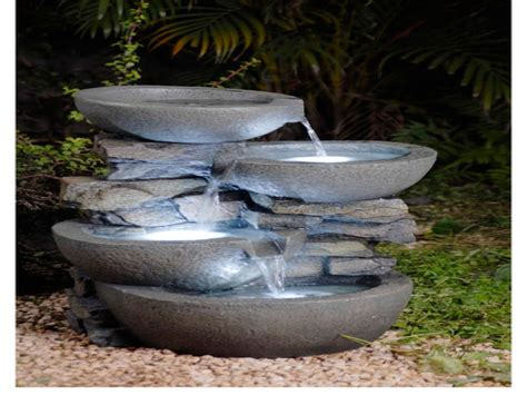 modern outdoor water fountains contemporary outdoor wall