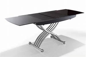 Petite Table Basse Ikea : table basse relevable ikea cuisine en image ~ Teatrodelosmanantiales.com Idées de Décoration