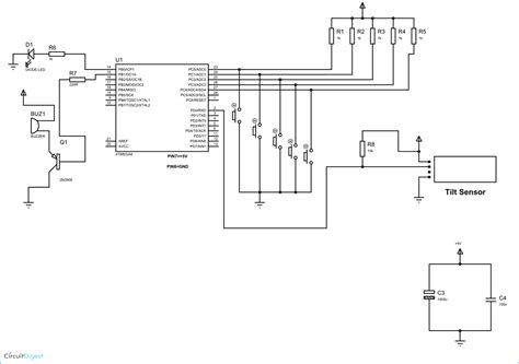 Anti Theft Alert System Using Atmega Microcontroller