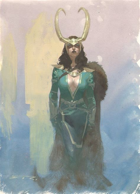 Lady Loki By Esad Ribic Marvel Loki Pinterest The