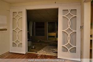 my finished sliding barn door style french doors autos post With barn door style french doors