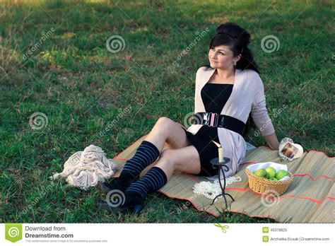 Sitting On The Mat - dreaming sitting on the mat stock photo image 45318825