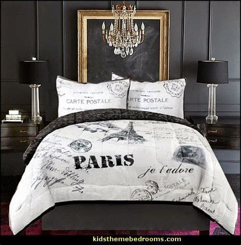 paris themed bedrooms ideas  pinterest