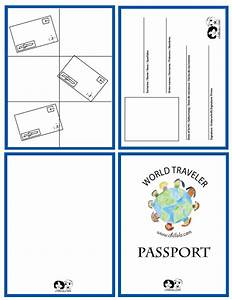 Passport template passport for kids passport www for Fun passport template