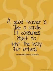 Good Teacher Quotes Inspirational