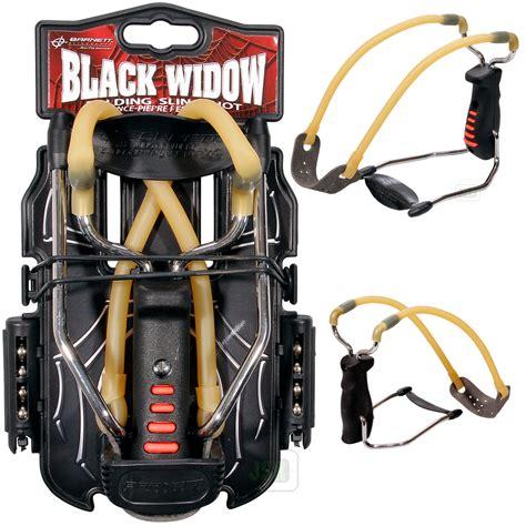 New Barnett Black Widow Powerful Hunting Slingshot