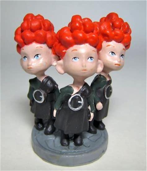 Harris, Hubert, and Hamish - Brave triplets PVC figure ...