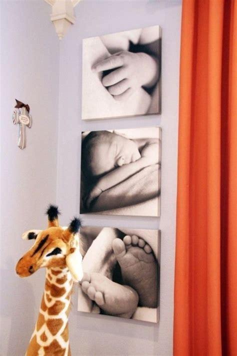 Minimalistische Einrichtung Des Kinderzimmerskleines Kinderzimmer In Orange by Wandbilder Kinderzimmer Welche Die Kinderzimmerw 228 Nde