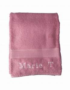 Serviette De Bain : serviette de bain personnalis e rose anglais pour maman ~ Teatrodelosmanantiales.com Idées de Décoration