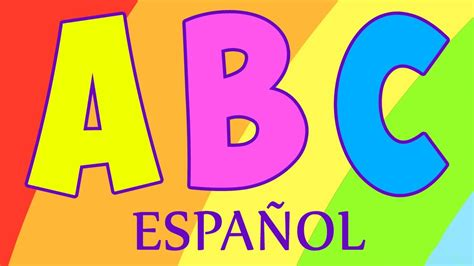 abc cancion de las letras canciones infantiles canci 243 n ni 241 os youtube