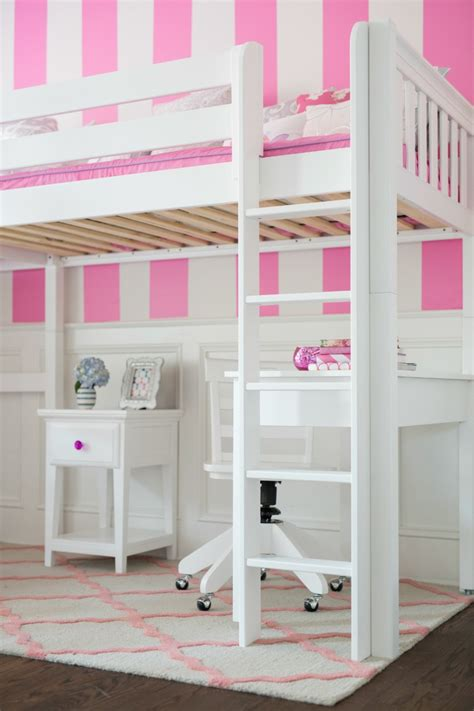 kids loft bed and desk straight ladder for a white high loft bed with desk and
