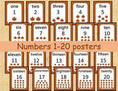 printable numbers posters happy apple numbers