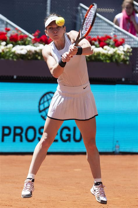 Kristyna Pliskova vs. Simona Halep | 2018 Mutua Madrid Open Round of 16 | WTA Highlights