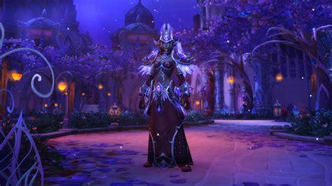 World Of Warcraft Warlock Wallpaper Sacrenuit Race Alliée Battle For Azeroth World Of Warcraft Mamytwink Com