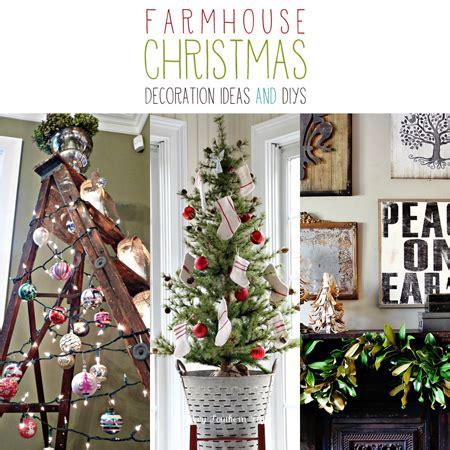 farmhouse christmas decoration ideas  diys