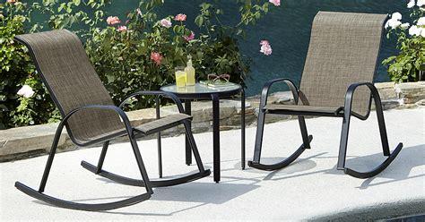 kmart bartlett stackable rocking chair only 40 reg