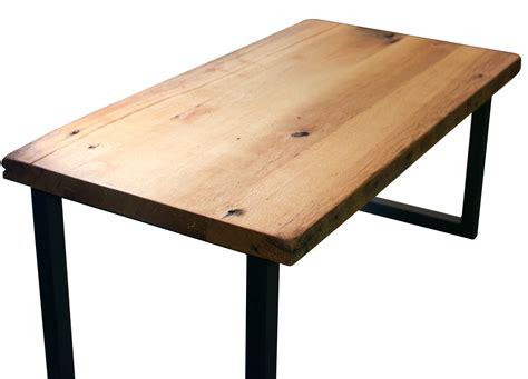 wood coffee table with metal legs buy hand made reclaimed wood coffee table with steel legs