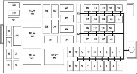 2006 Ford Crown Victorium Fuse Box Diagram by Ford Crown 2003 2013 Fuse Box Diagram