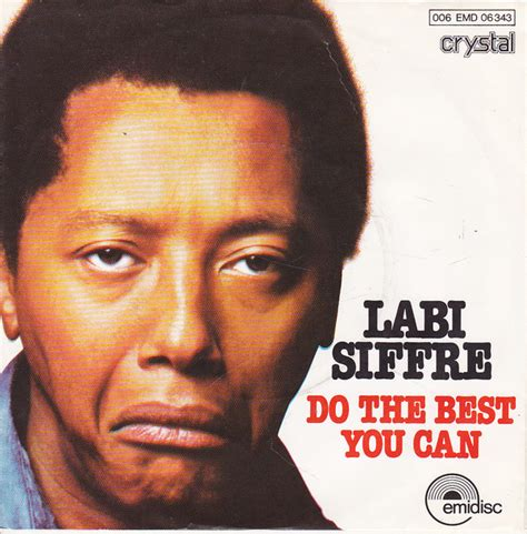 Labi Siffre - Do The Best You Can | Releases | Discogs