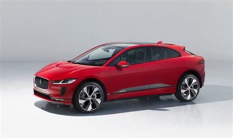 jaguar  electric  pace suv cool material
