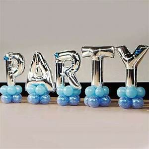 Online buy wholesale letter balloons from china letter for Wholesale letter balloons
