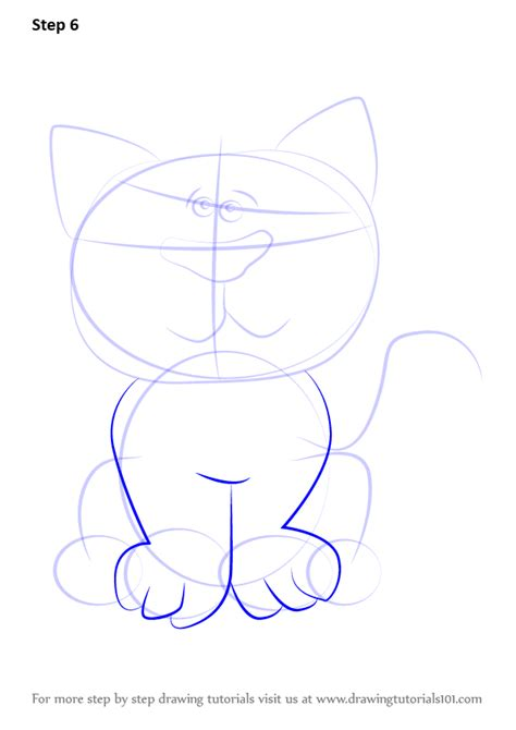 learn   draw  cat  kids cats step  step