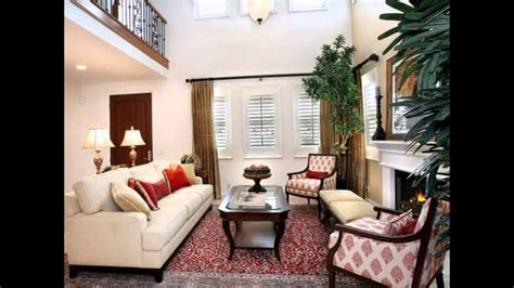 living room decorating ideas  red brick fireplace