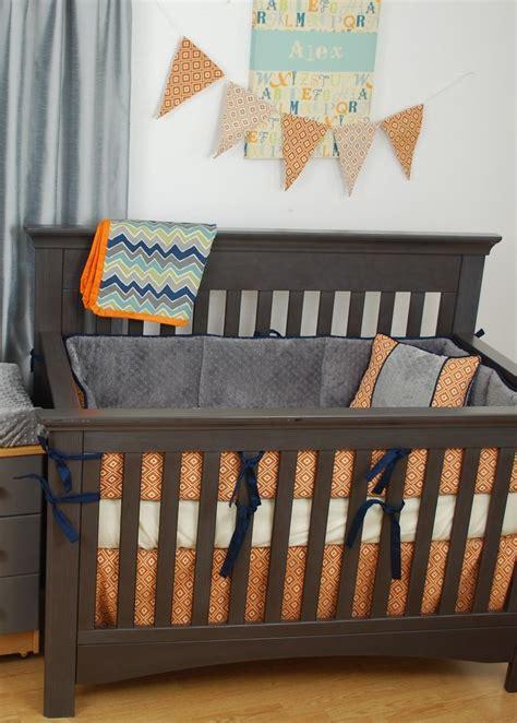 orange crib sheet 119 best images about orange in the nursery on