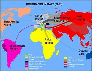 Diagrams Of Italy Migration
