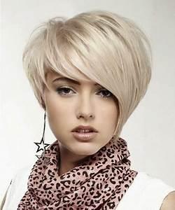 Coupe Courte Visage Ovale : coupe de cheveux courte pour visage ovale ~ Melissatoandfro.com Idées de Décoration