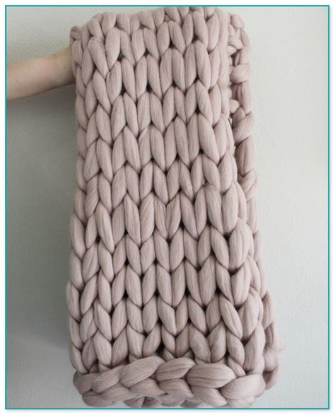 Extrem Dicke Wolle by Babydecke Stricken Dicke Wolle 4