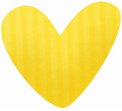 Heart Clipart Yellow Clip Cookie Smart Pale