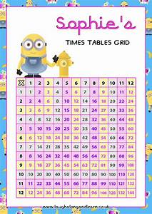 Interactive Charts For Preschool Times Table Chart More Photos