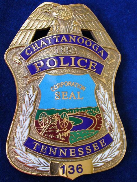 chattanooga tennessee le badges police patches fire