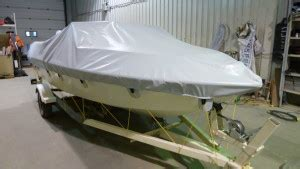 Custom Boat Covers In Canada by Custom Projects Trans Canada Tarps