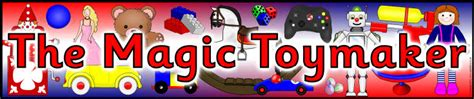 magic toymaker display banners sb sparklebox
