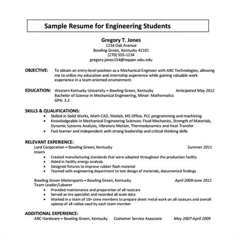 Chronological Resume by Chronological Resume Template 23 Free Sles Exles