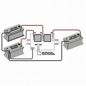 Coupleur Separateur Batterie Camping Car : coupleur pour 3 batteries 110 amp sheiber ~ Medecine-chirurgie-esthetiques.com Avis de Voitures