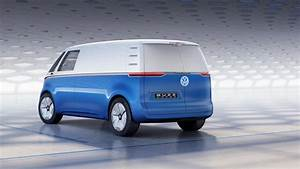 Electric Volkswagen Microbus concept gets right down to